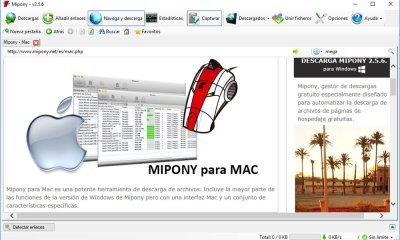 MiPony gestor de descargas