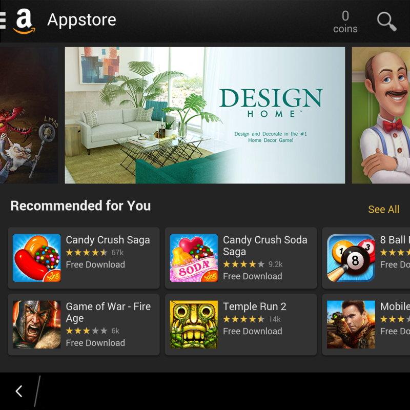 Amazon Appstore Alternativa a Google Play