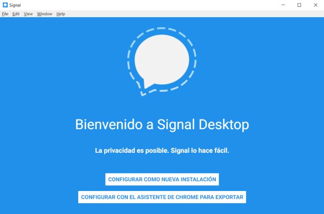 Signal Escritorio