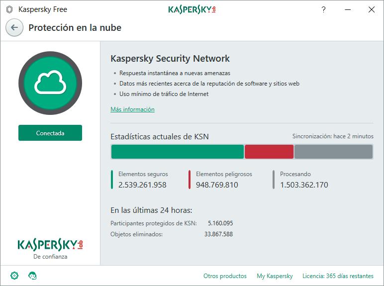 Kaspersky Free AntiVirus 2018 gratis