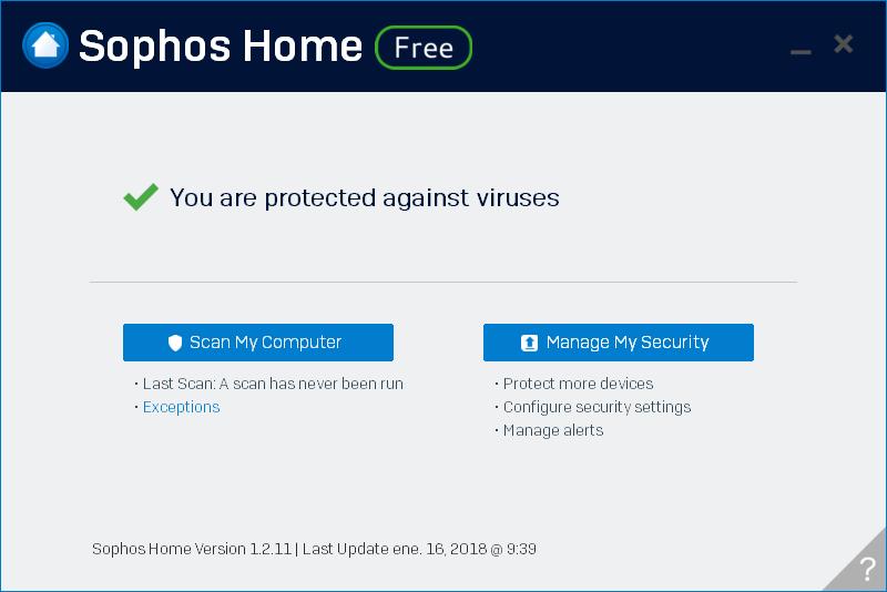 Sophos Home Antivirus Gratis