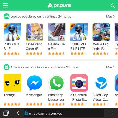 APKPure alternativa a Google Play