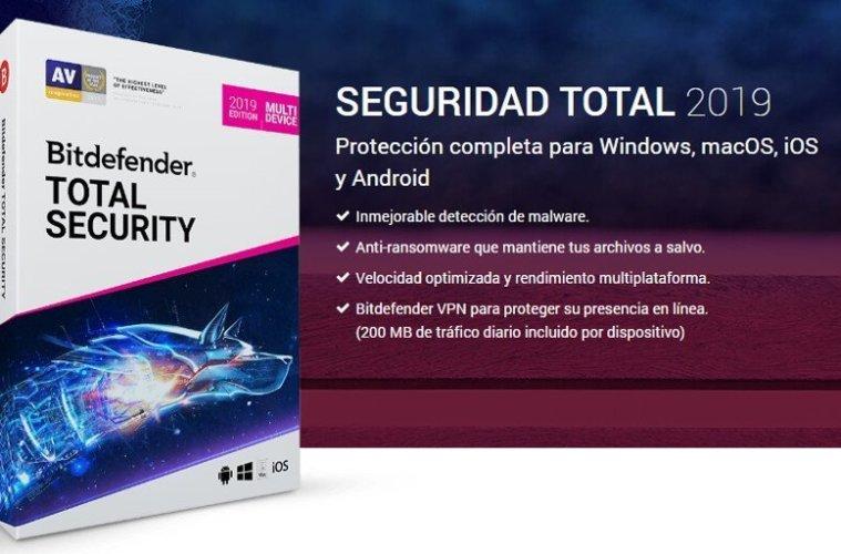 Bitdefender Total Security full gratis