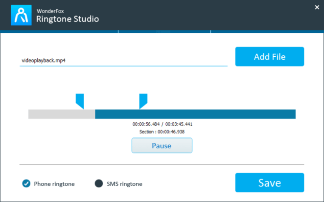 Wonderfox Ringtone Studio