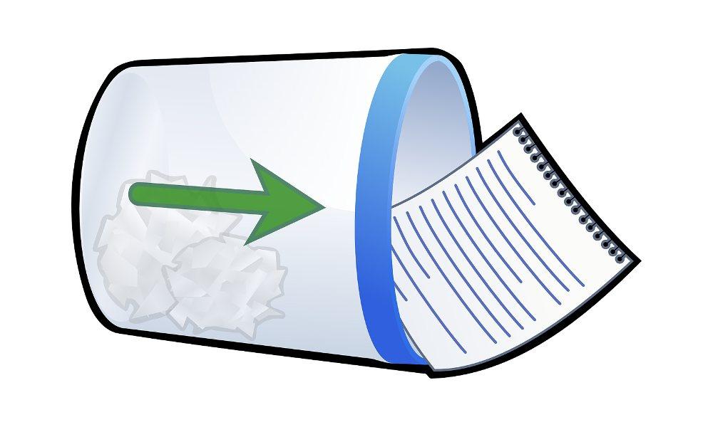 Recuperar archivos de la papelera de reciclaje