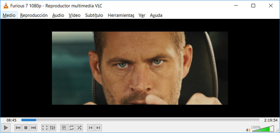 VLC reproductor multimedia
