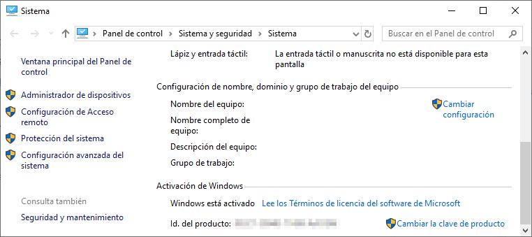 Windows 10 activado