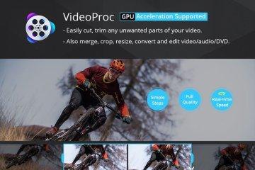 Cortar y recortar videos con VideoProc