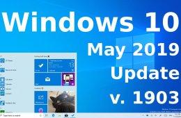 Windows 10 May 2019 Update 1903