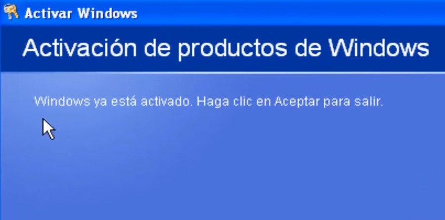 activar Windows XP