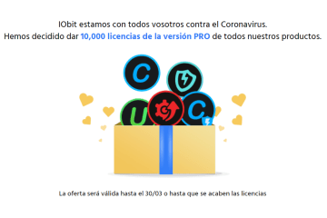 iObit licencias gratis