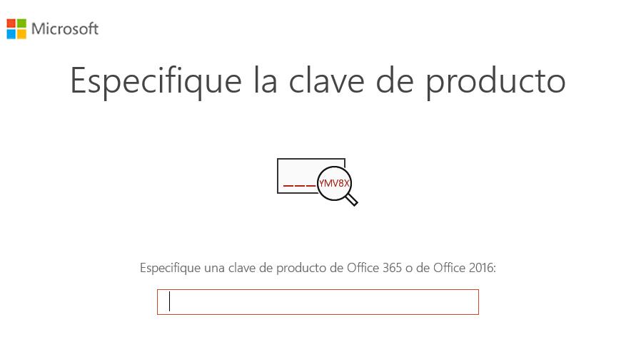 Clave de Office 2019