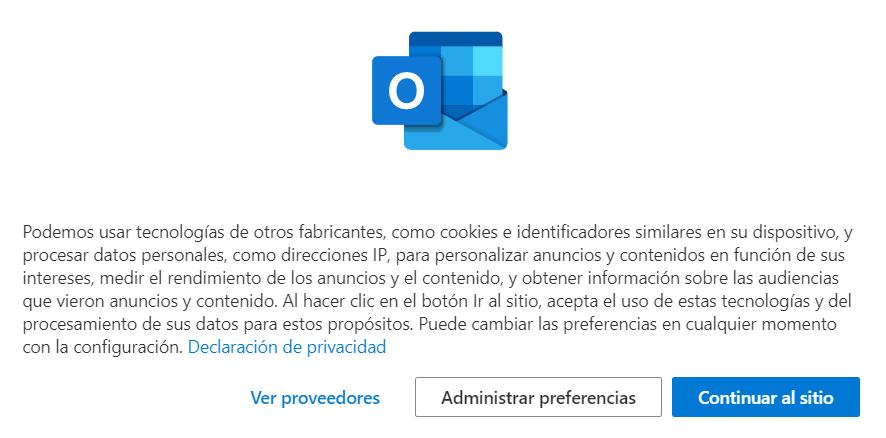 Términos del servicio de Microsoft