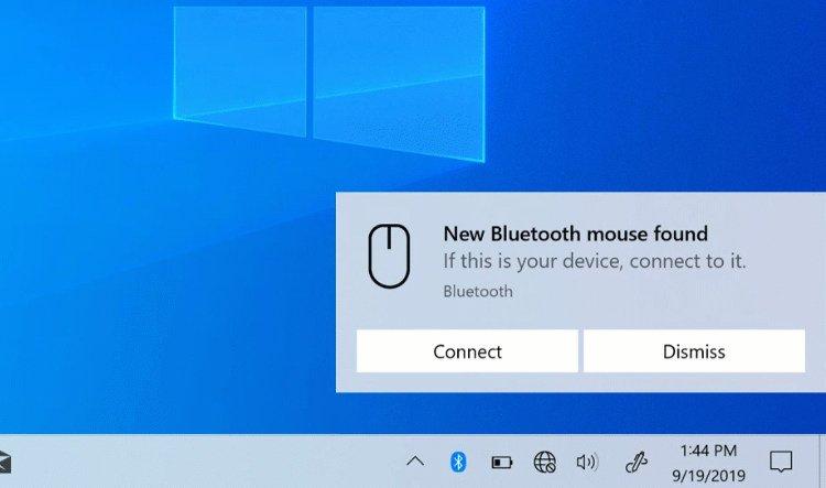emperejamiento Bluetooth desde las notificaciones