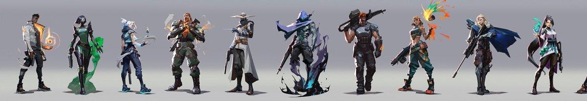 Personajes de Valorant
