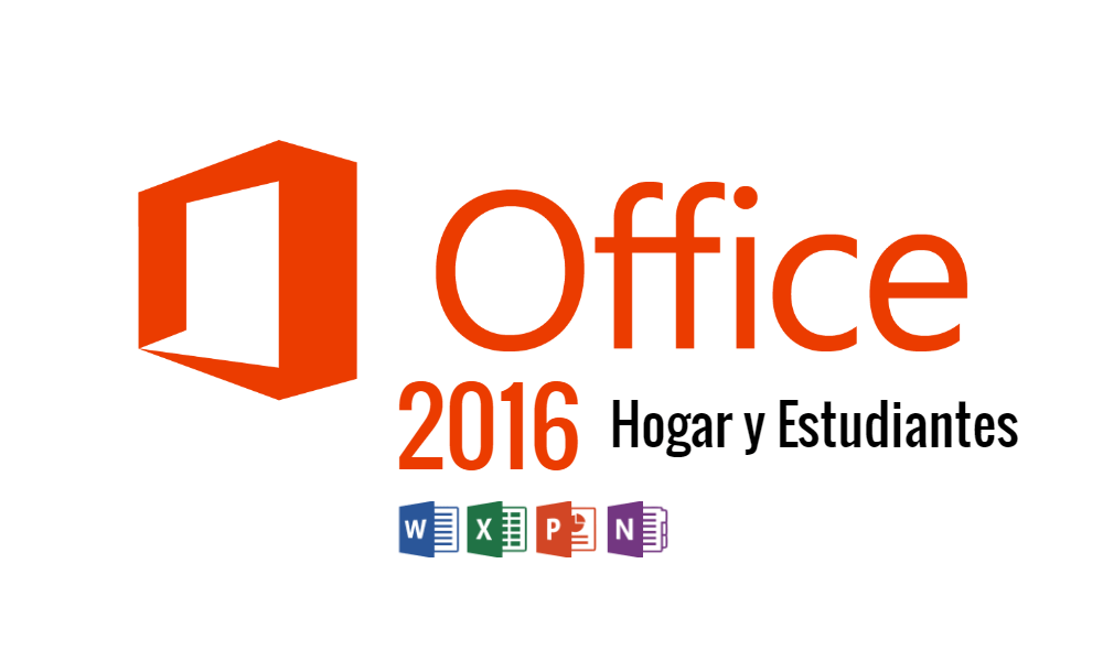Microsoft Office 2016 Hogar y Estudiantes ISO