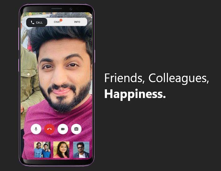 aplicación de videollamadas india Say Namaste