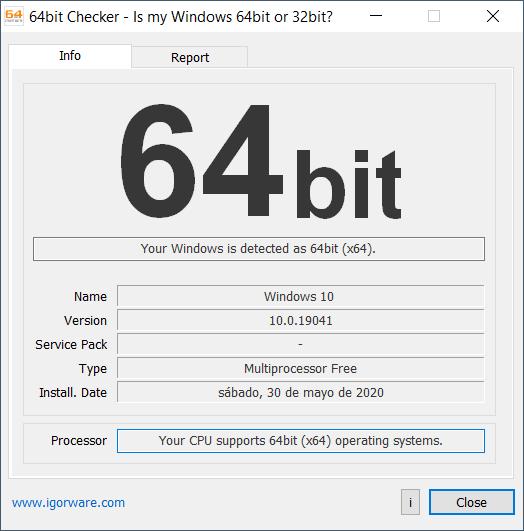 64bit Checker