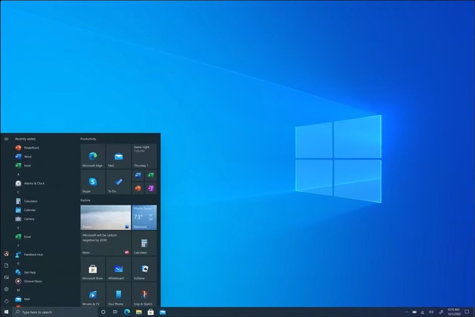 Windows 10 20H2 ISO 32 y 64 bits