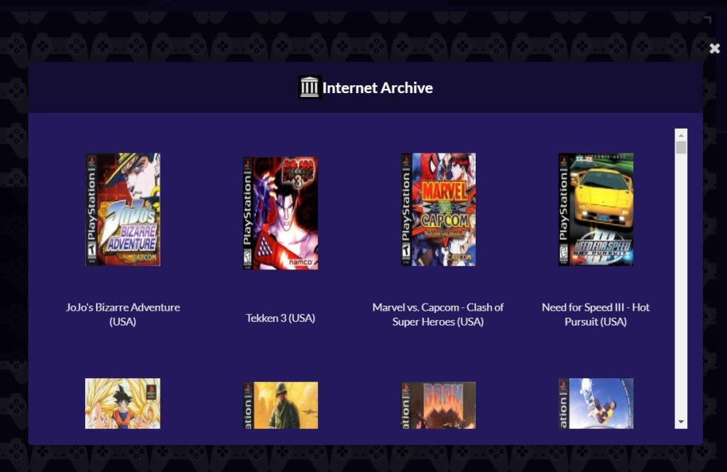 Juegos PlayStation 1 Emulador PSX Party online