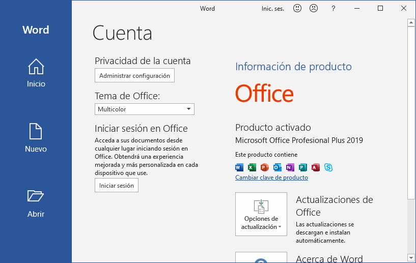 Office 2019 gratis