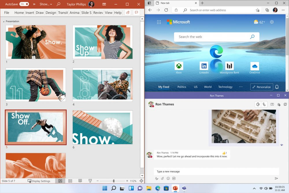 Múltiples ventanas Windows 11