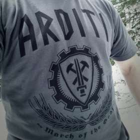 March for the Gods - Grey T-shirt