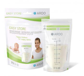 Ardo Easy Store moedermelk bewaarzakjes (25 stuks) – Nieuw