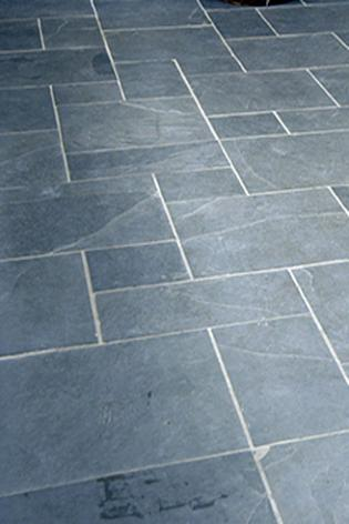 Slate Floor Tiles and for Kitchens and Bathrooms in Black