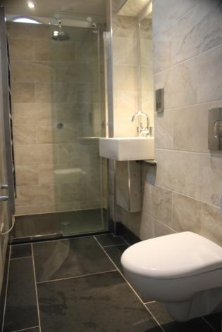 Custom Shower Trays and Tiles in Slate Handmade in the UK
