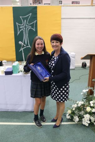 Abby Downey achieved 10 A's in her Junior Cert 2018