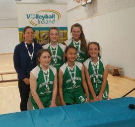 All Ireland Silver medal winners Sept 2018