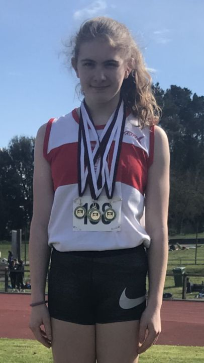 Athletics champion Ava