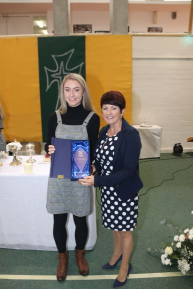 Laura Hession highest points in LCert 2018