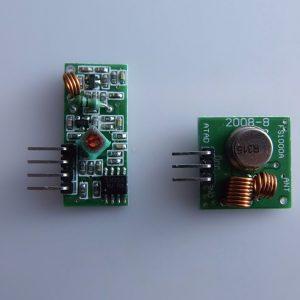 Wireless transmission Modulo 315M ARDUINO comp. super regenerative Modulo anti-theft alarm Trasmettitore