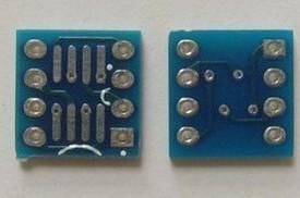 3 Pezzi SOP8 turn DIP8 Adattatore plate