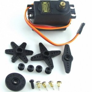 servo MG995, biped robot manipulator, Controllo Remoto cars, 55G copper metal gear servos