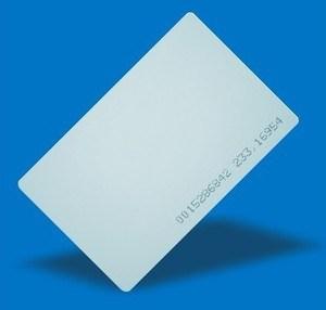 4 Pezzi Blank Thin Card RFID 13.56MHz