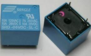 SRD-6VDC-SL-C Songle Relè T73-6V 5pins