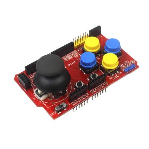Arduino JoyStick Shield, joysticks Scheda Espansione, simulated Tastiera and mouse functions