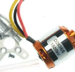 Brushless Motore D2836-6 1500KV