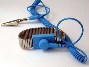 Corded anti-static wrist strap metal / 0.1 seconds to eliminate static wrist strap / wrist strap with metal rope
