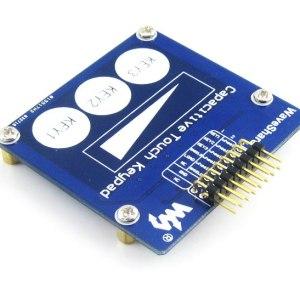 Capacitivo Touch Keypad Scheda di Sviluppo Modulo Kit ( 3 Keys + Linear Sensore )