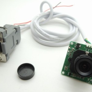 RS232 Interfaccia Seriale camera Modulo 640 * 480 300 000 pixels