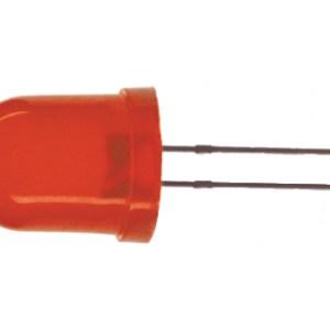 5 Pezzi F10 Diodi LED Rosso 10mm