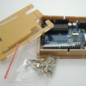 Arduino UNO R3 Enclosure Transparent Case Clear