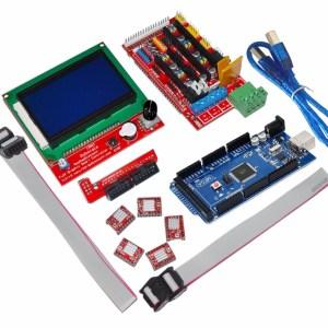 H036 RAMPS 1.4 Kit + Mega 2560 + 5 Pezzi A4988 + LCD 12864 Display per Stampante 3D RepRap
