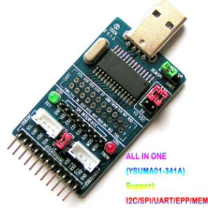 CH341A USB to I2C/IIC/SPI/UART/TTL/ISP Adattatore EPP/MEM