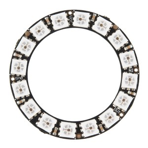 NeoPixel Ring - 16 x WS2812 5050 RGB LED with Integrated Driver