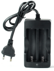 2*18650 Batteria Power Charger EUP Plug